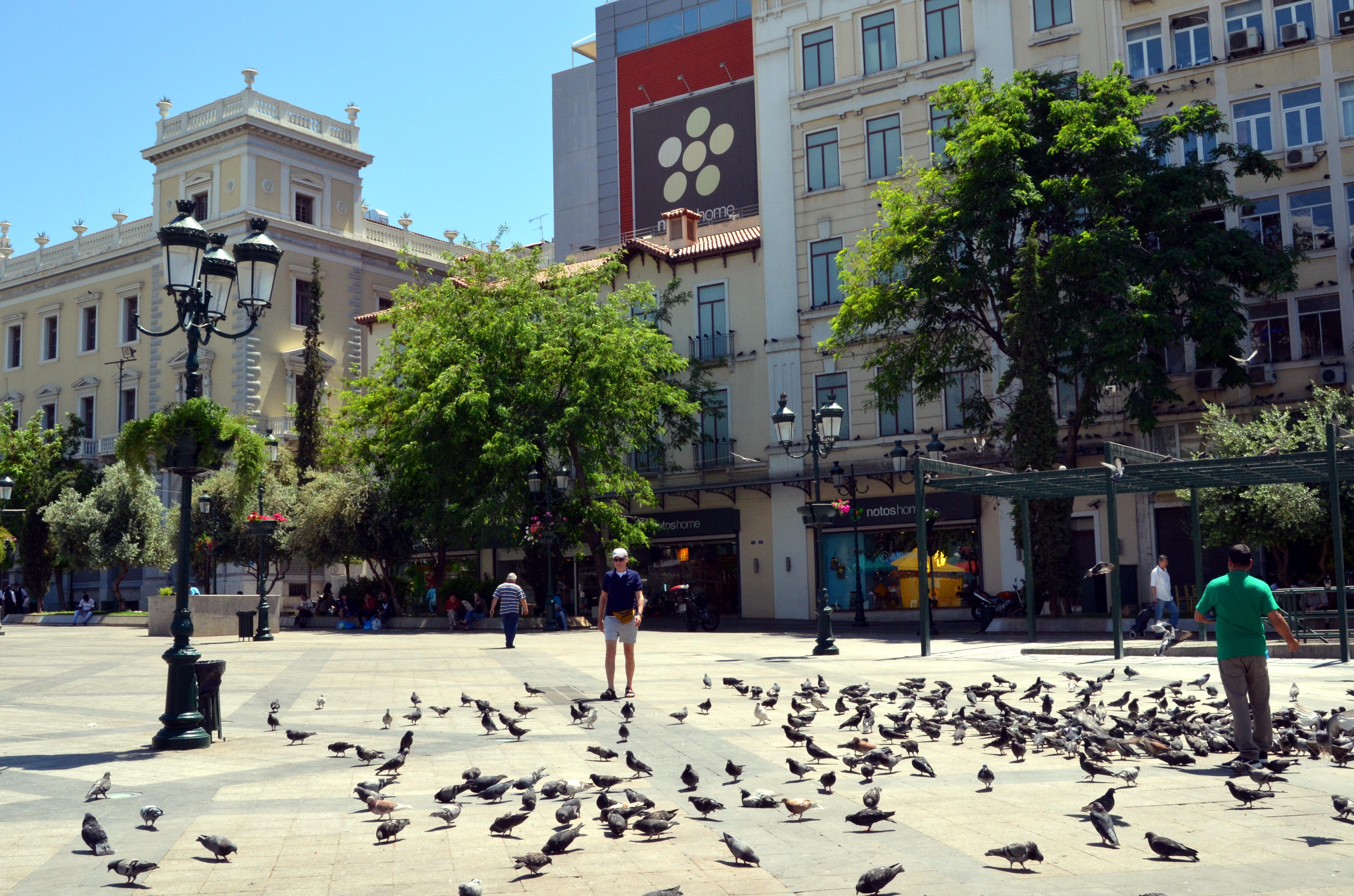 Athene wandeling