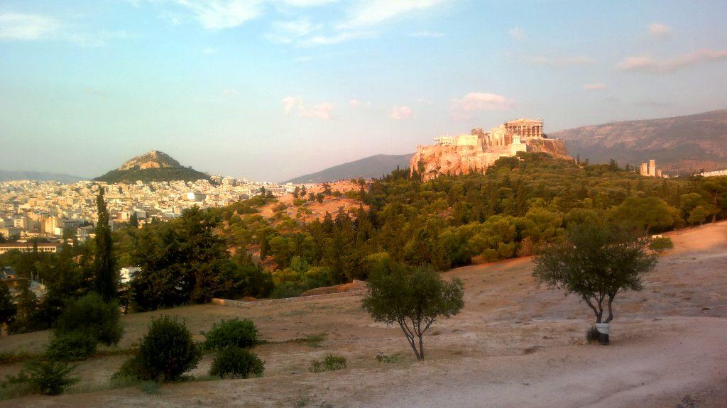 avondwandeling Akropolis