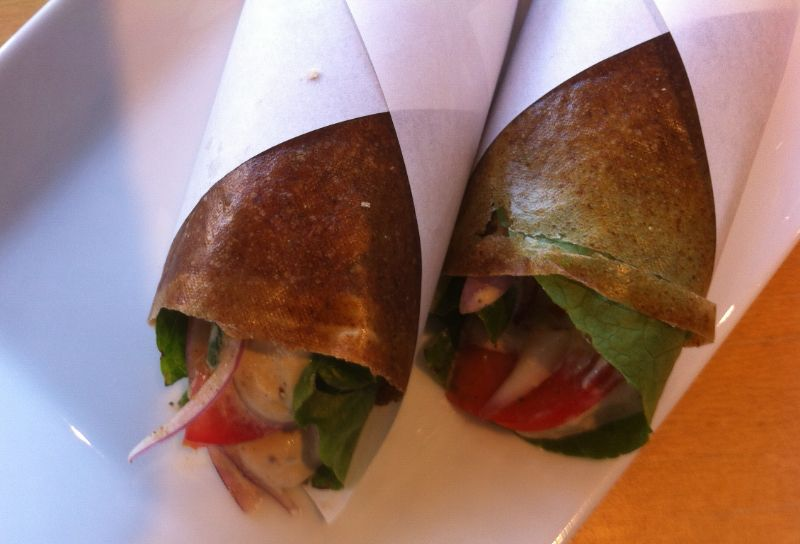 Vegetarisch eten in Athene