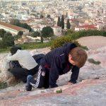 Athene met kids